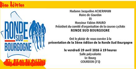 invitation présentation rsb 2016 Ronde sud Bg