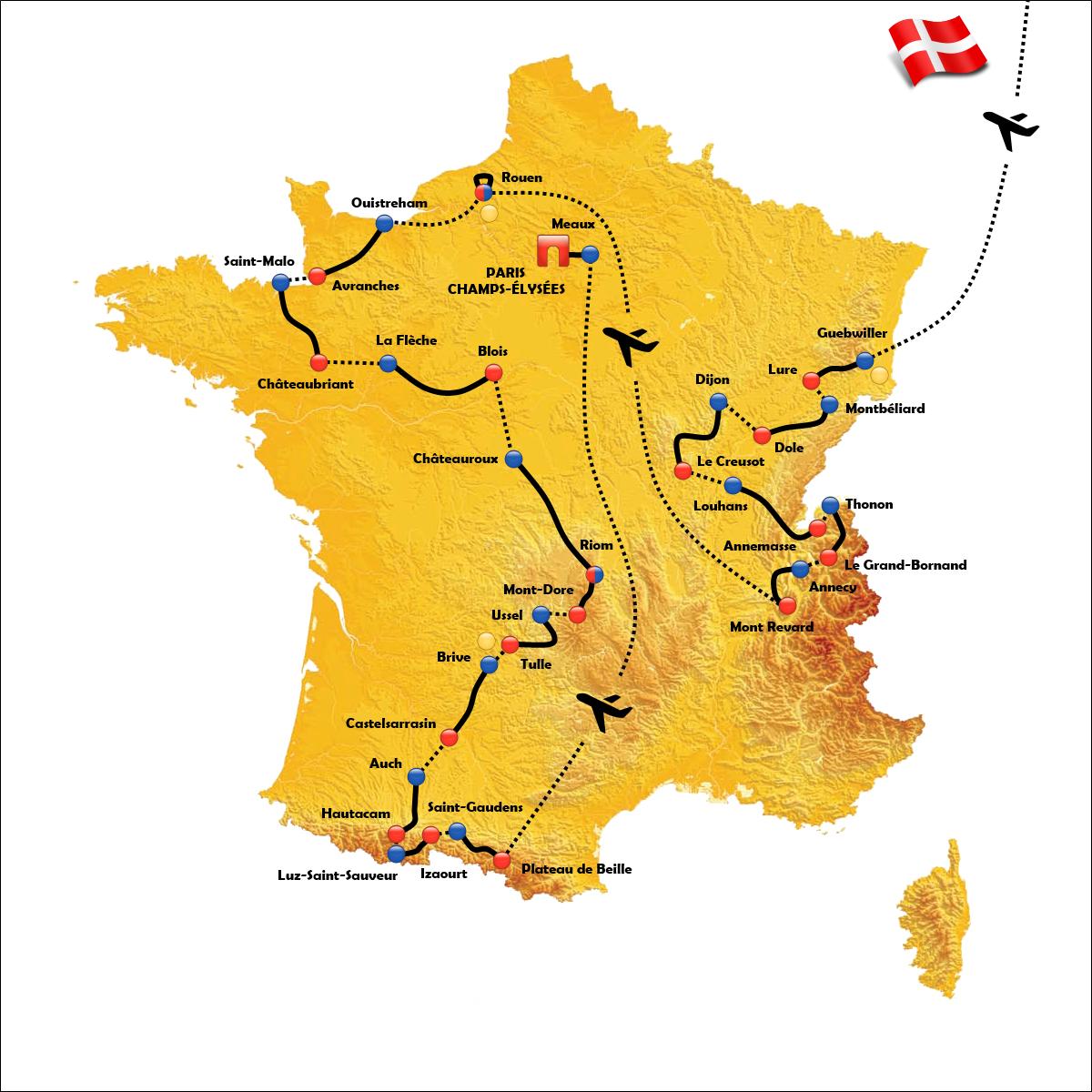 Tor De France 2021